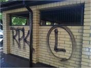 Usuwanie graffiti i mycie elewacji / Warszawa Praga PŁD., Wawer