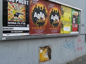 Usuwanie graffiti i zabezpieczenie antygraffiti / Warszawa Saska Kępa, Gocław